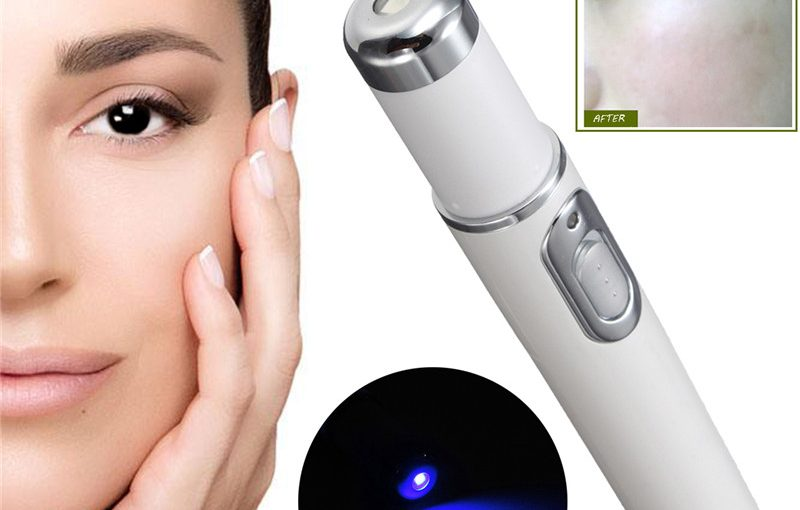 Therapy acne laser pen