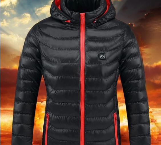 Outdoor USB heated jacket